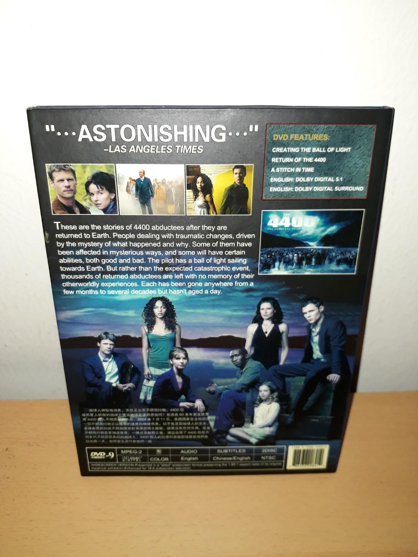 DVD - The 4400 (Season 1 - 3)