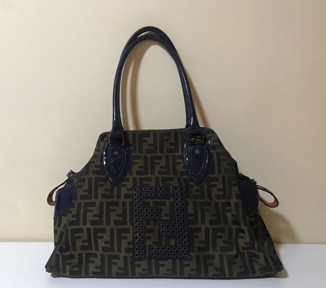 54727facff48 Fendi Monogram Vintage Handbag