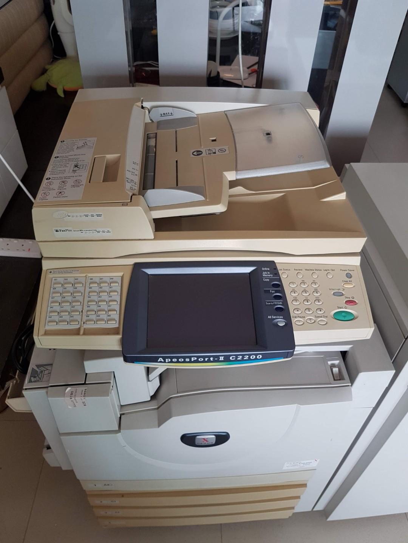 FREE First Come First Serve Fuji Xerox Copier, Scan, Fax Machine