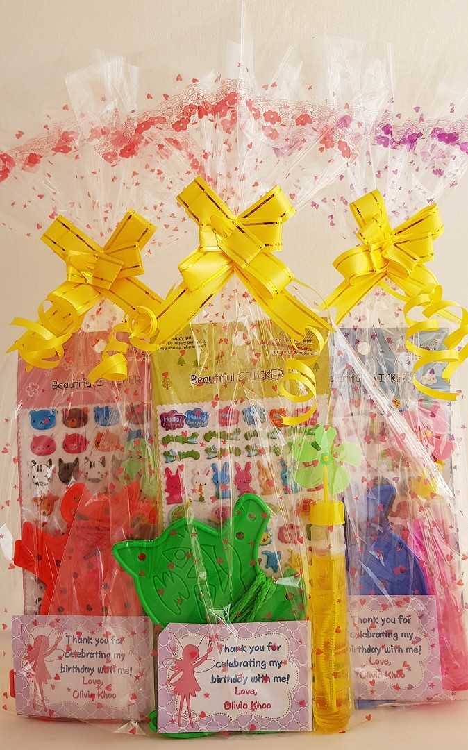 Goodie Bag Goody Bubbles Babies Kids Toys Walkers On