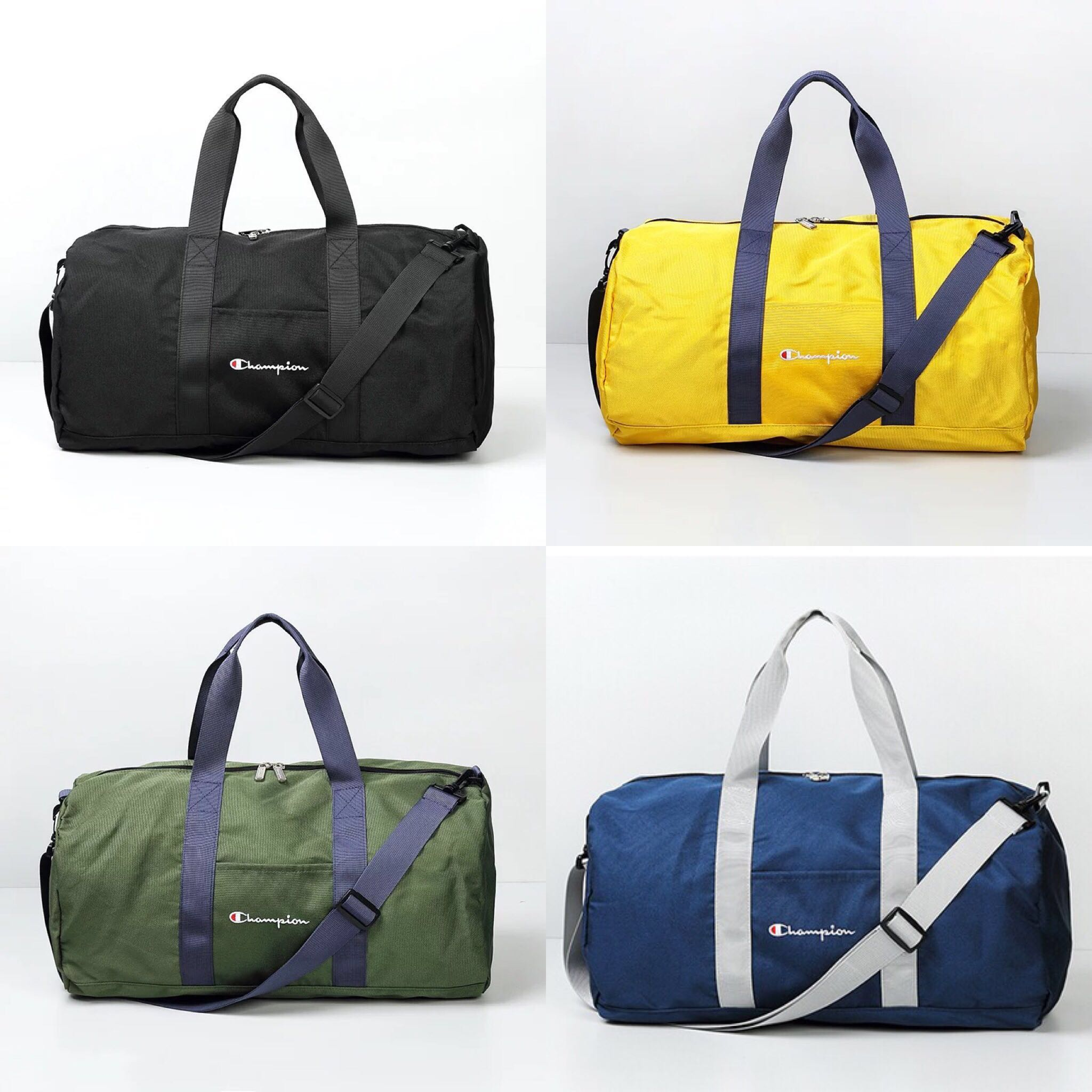 06b4d989d11dd7 INSTOCKS Champion FW18 Colorblock Travel Gym Bag