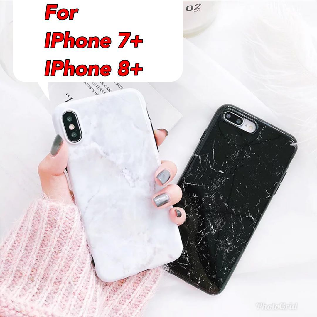 new product 48717 5392e IPhone 7 Plus/8 Plus Marble casing