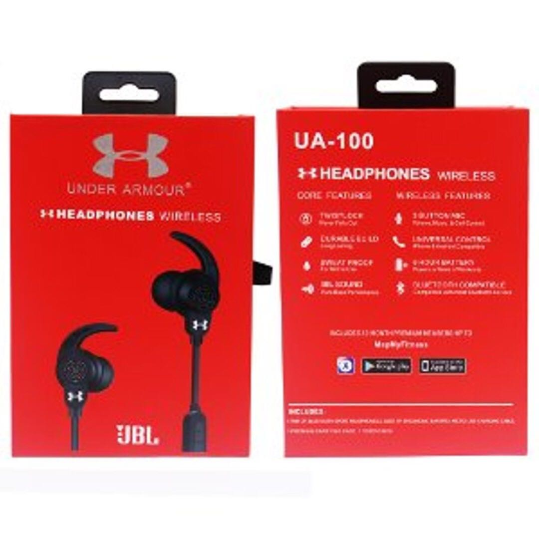 b50dd492a88 JBL Under Armour UA-100 v4.2 Wireless Headphones Headset Bluetooth,  Electronics, Audio on Carousell