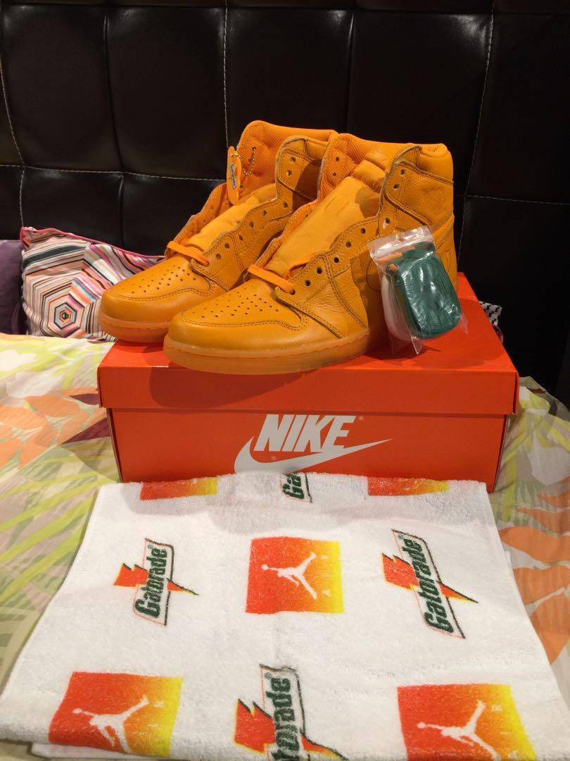66b15af9e1a Jordan 1 OG Orange Peel, Men's Fashion, Footwear, Sneakers on Carousell