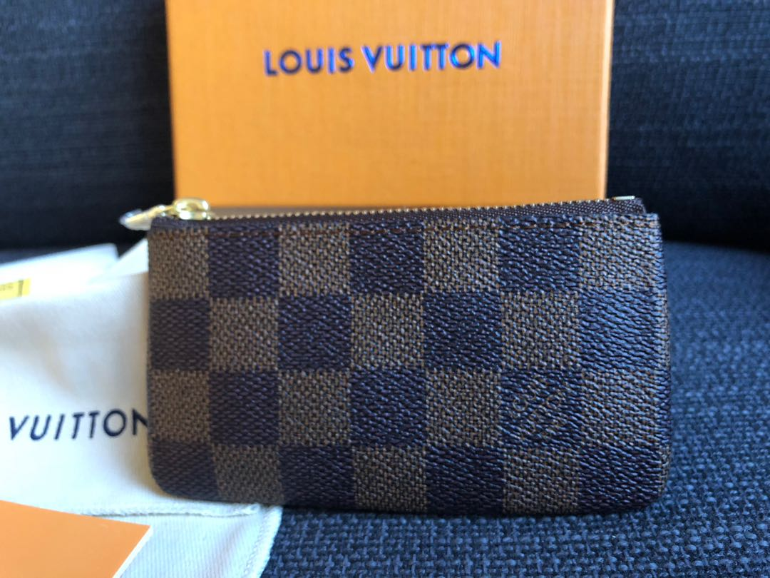 9b40e20aa391 Louis Vuitton LV Damier Coin and Key Pouch