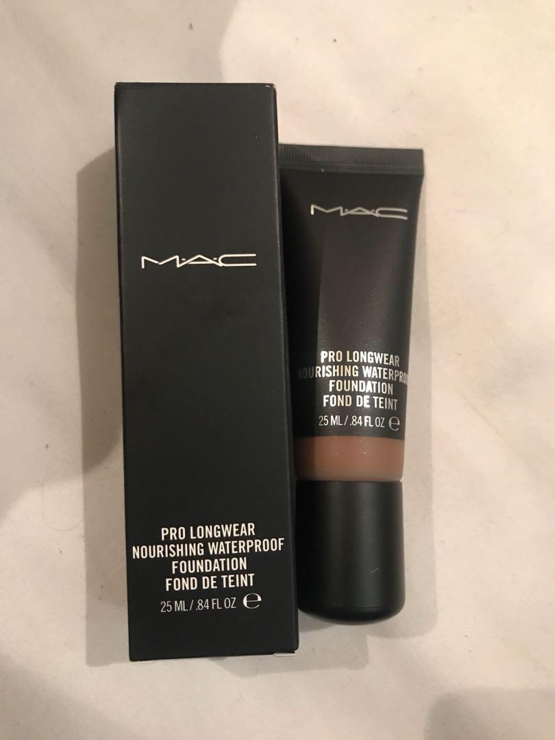 Mac nw50 Prolongwear nourishing foundation with box