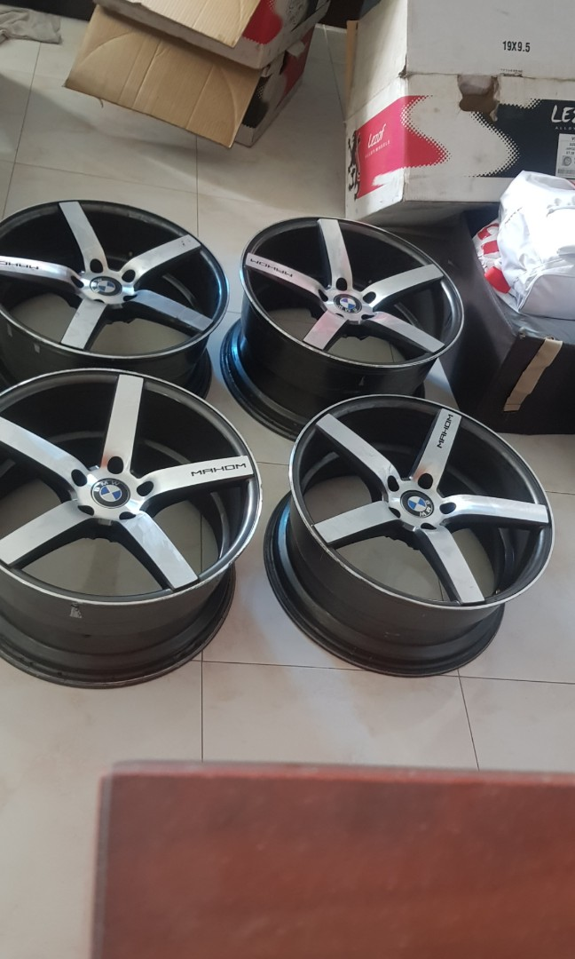 Mahom 19 Staggerd Rims Bmw F30 Car Accessories Tyres Rims On