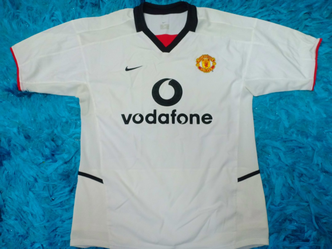 be6ecf7c300 Manchester United 2002   03 Away Jersey