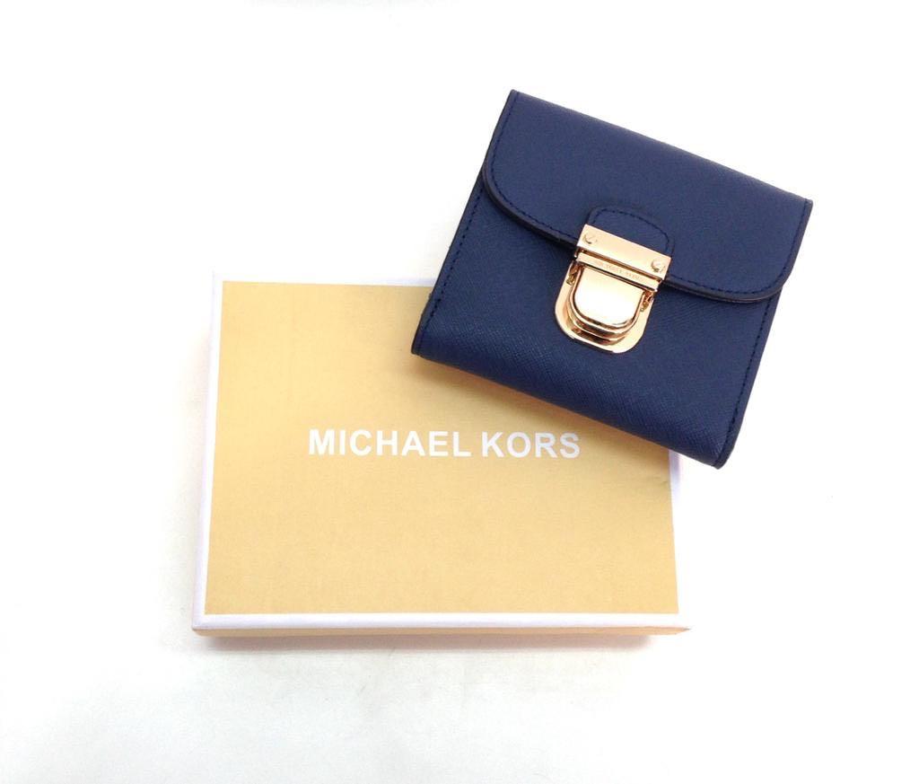 49311db3fa86 Michael Kors Bridgette Flap Mini Wallet, Luxury, Bags & Wallets on Carousell