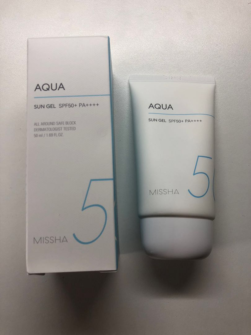6b3ae4e005bc67 MISSHA Aqua Sun Gel SPF50+ PA++++, Health & Beauty, Face & Skin Care ...