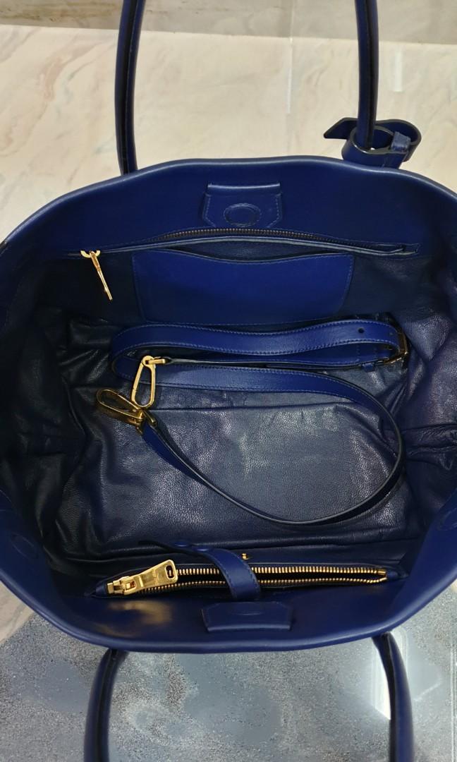 fe191327cb27 Miu Miu Vitello Soft Tote Bag (Inchiostro) RN1077