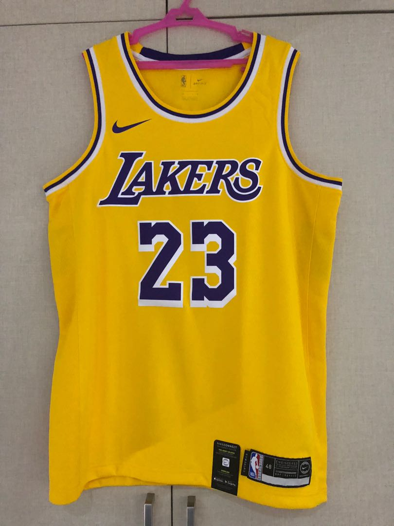hot sale online cec11 a5018 NIKE JERSEY - Lakers Lebron