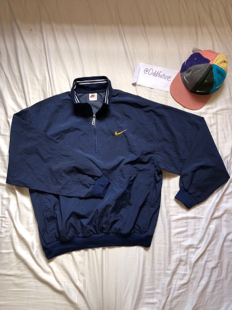254e4f3af5 Nike spellout windbreaker pullover