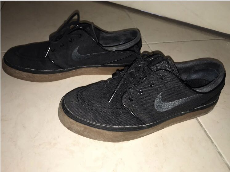 c62fb3c06fa54a ... top quality nike stefan janoski black gum sole mens fashion footwear  sneakers on carousell 09835 d9bcc