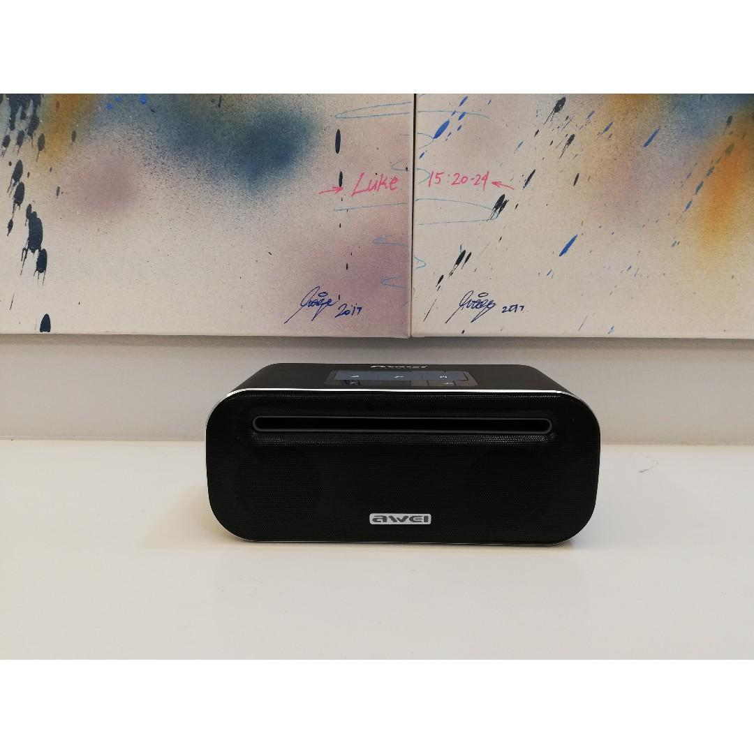 Awei Y600 - Wireless HD Virtual Surround Sound Metal Speakers