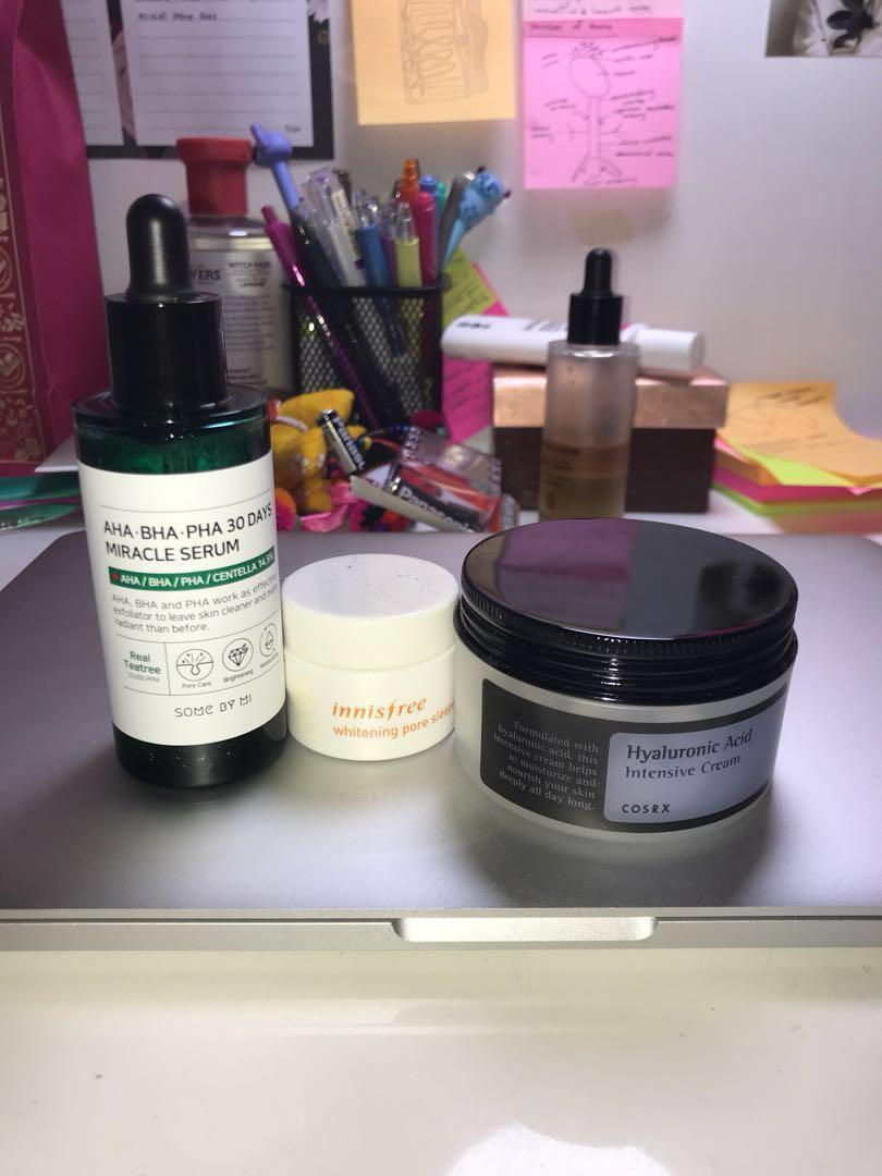 Preloved Korean Skincare