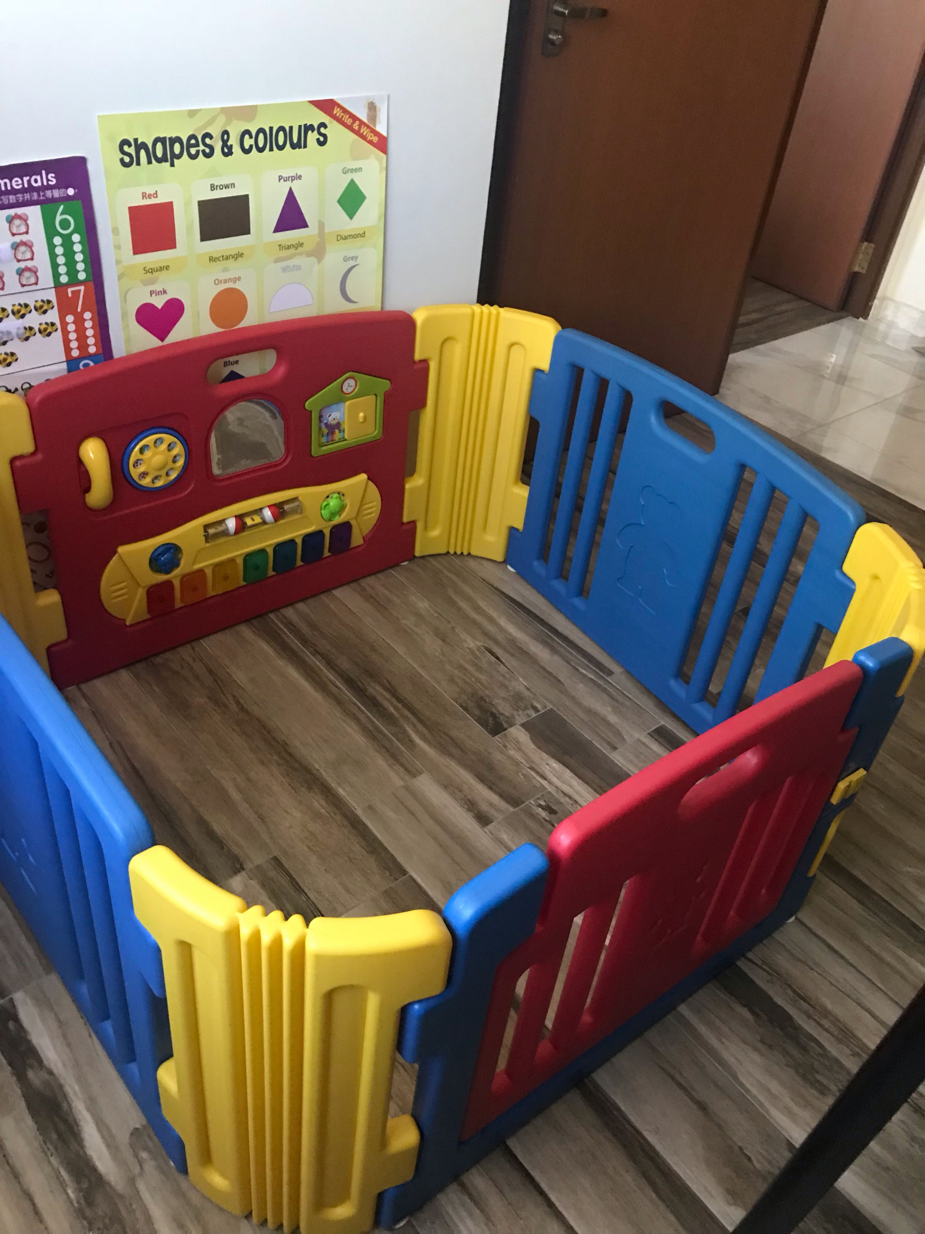 8bb6318a5199 Preloved Playpen Play Yard -almost new