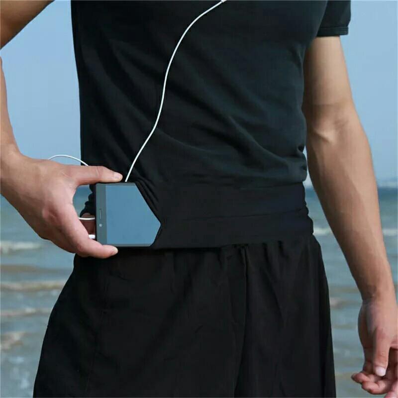 Professional Running Waist Bag Men Women Gym Sport Bag Trail Unisex Running Belt Invisible Fanny Waist Pack for Mobile Phone