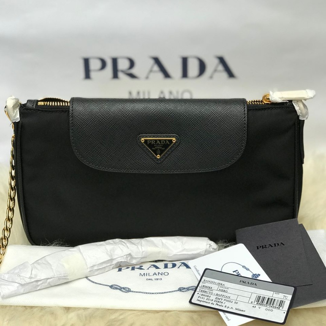7bd29f905443 SALE ‼ P31k only Brand New Prada Gold Chain On hand ✅