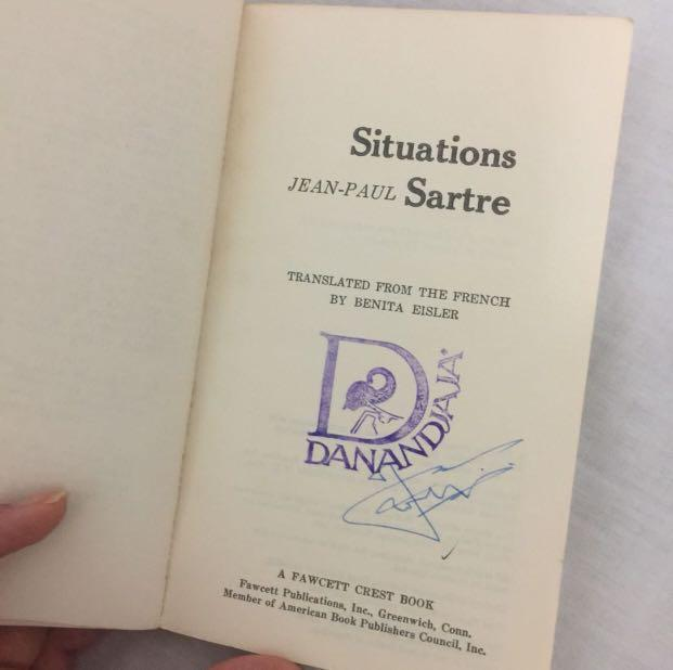 Situations by Jean Paul Sartre