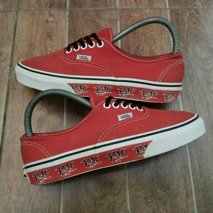Vans authentic X RAD PACK red 228fb2fdb