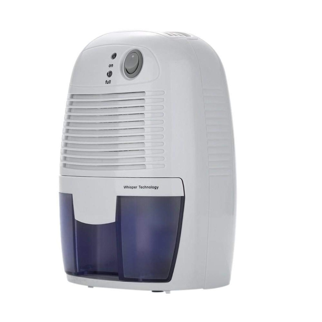 XRow-600A Ultra-mini Semiconductor Dehumidifier Desiccant Moisture  Absorbing Air Dryer with Ultra-quiet Peltier Technology Thermo-electric  Cooling for