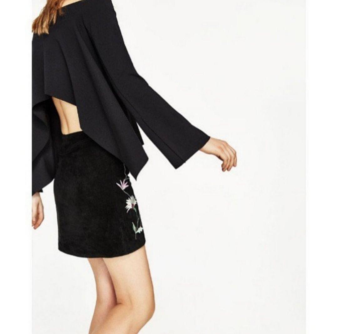 29340ac7ffd BNWT Zara Off Shoulder Exposed Back Top, Women's Fashion, Clothes ...