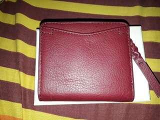 Fossil RFID caroline mini wallet cabernet