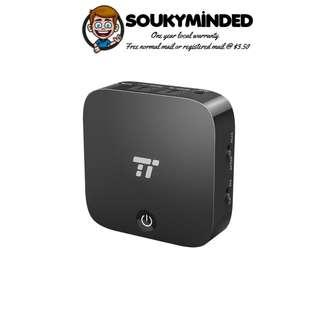 [IN-STOCK] TaoTronics Bluetooth Transmitter and Receiver, Digital Optical TOSLINK and 3.5mm Wireless Audio Adapter for TV/Home Stereo System - aptX Low Latency