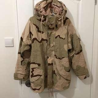 沙色迷彩 tru-spec jacket army military vintage war game