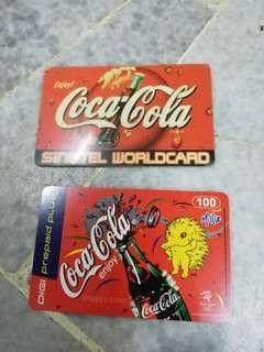 Coca cola TOPUP card