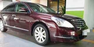 NISSAN TEANA 2.5XV PUSHSTART BUTTON V6 ENGINE CVT GEARBOX AUTO TRANSMISSION YEAR 2009 NICE & CLEAN INTERIOR SUPERB CONDITION WELL MAINTAINED   STATUS SINGAPORE 🇸🇬 SELF COLLECT JB  RM 7K Nett Price OFFER