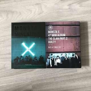monsta x the clan part 1 and part 2 unsealed albums