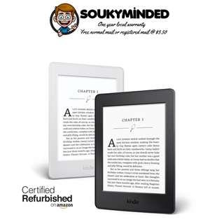 """[IN-STOCK] Certified Refurbished Kindle Paperwhite E-reader - Black, 6"""" High-Resolution Display (300 ppi) with Built-in Light, Wi-Fi - Includes Special Offers"""