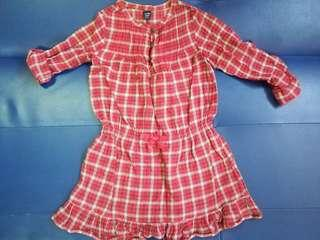 Baby Gap Checkered Dress