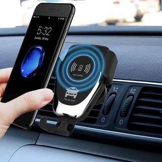wireless charger無線車載充電支架