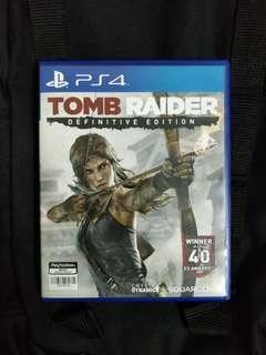 PS4 Tomb Raider: Definitive Edition