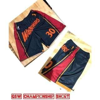GSW 4 Pocket Shorts