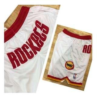 Rockets 4Pockets Jersey Shorts