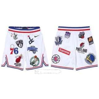 NBA 4 Pockets Jersey Shorts