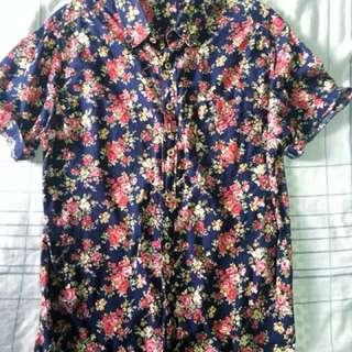 Floral Buttondown (UNISEX)