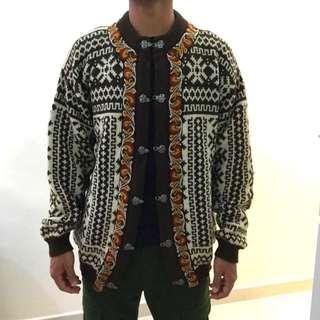 購自英國 挪威 vintage 羊毛民族外套