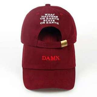 Mens cap baseball cap Damn