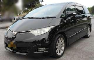 TOYOTA ESTIMA AERAS 2.4A PUSHSTART BUTTON SUNROOF/MOONROOF POWERDOOR 7 SEATER AUTO TRANSMISSION YEAR 2009 SUPERB CONDITION LIKE NEW  NICE & CLEAN INTERIOR WELL MAINTAINED  FULLSPEC MODEL  STATUS SINGAPORE 🇸🇬 SELF COLLECT JB RM 18K ONLY OFFER PRICE