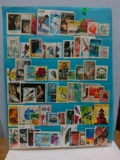 Worldwide Stamps 60pcs Set 8