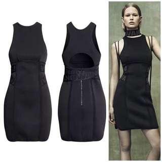 h&m x Alexander Wang scuba dress size 6