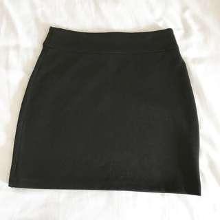 BDG Black Mini Skirt, Size Medium