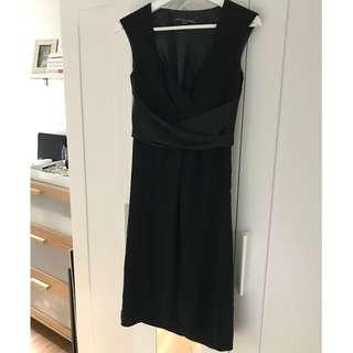 Cassis Black Dress, Size 2
