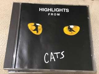 Highlights from  Cats -早期寶麗金舊版 made in Germany 冇ifpi