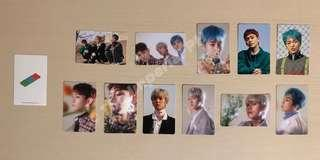Official EXO-CBX Blooming Days Photocard Stickers [On-Hand]